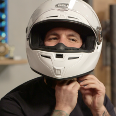 Why Do Motorcycle Helmets Have A Pointed Chin
